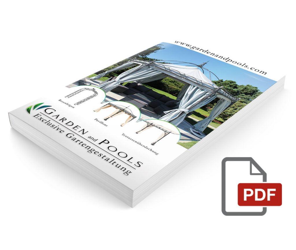 Katalog produktów dla firmy Garden and Pools.