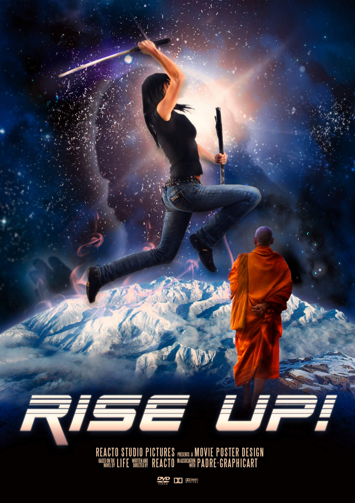 Plakat filmowy - artwork - rise up!