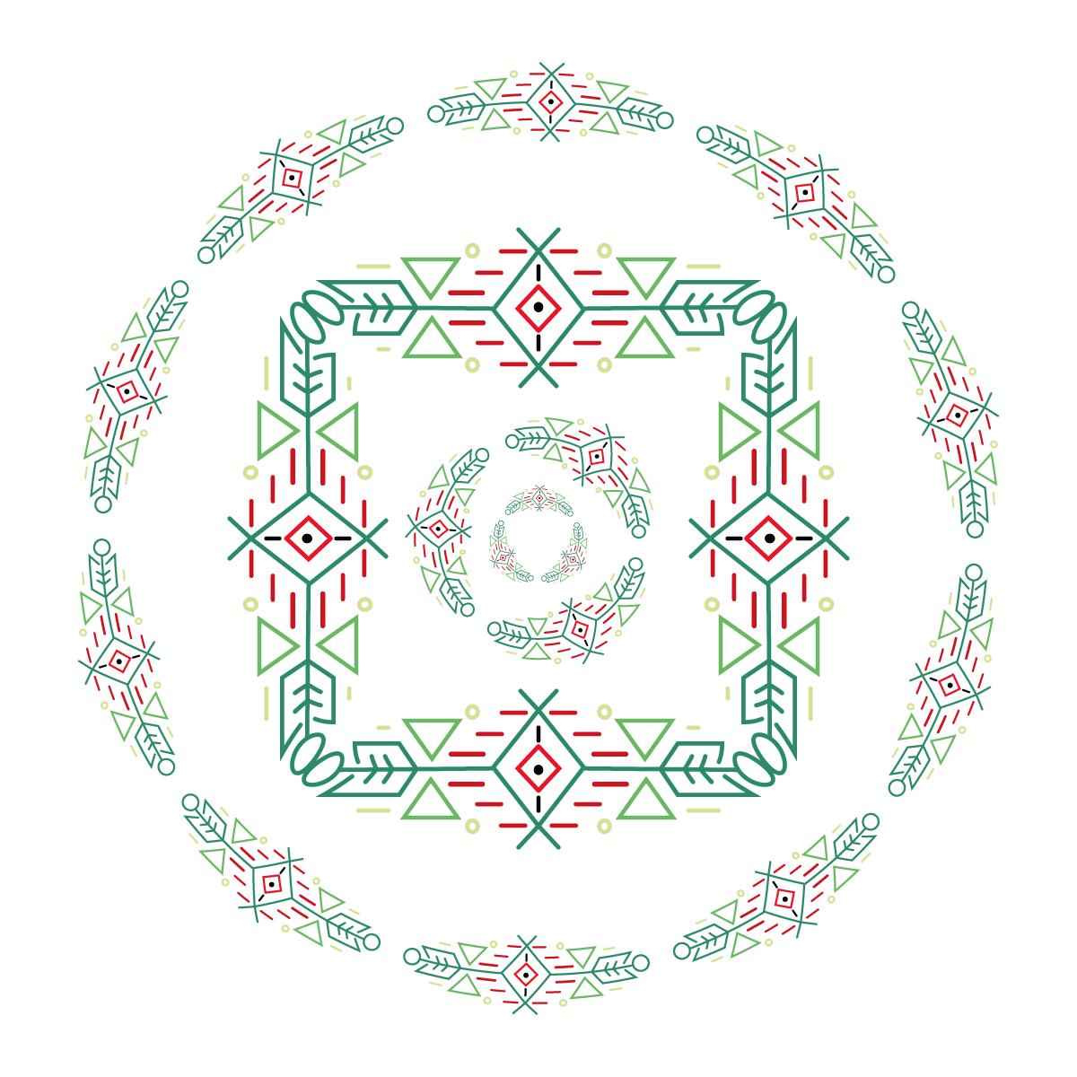 Wzór graficzny liniowy