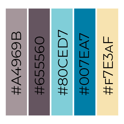 grafik kampanii reklamowej - key visual - schemat kolorów