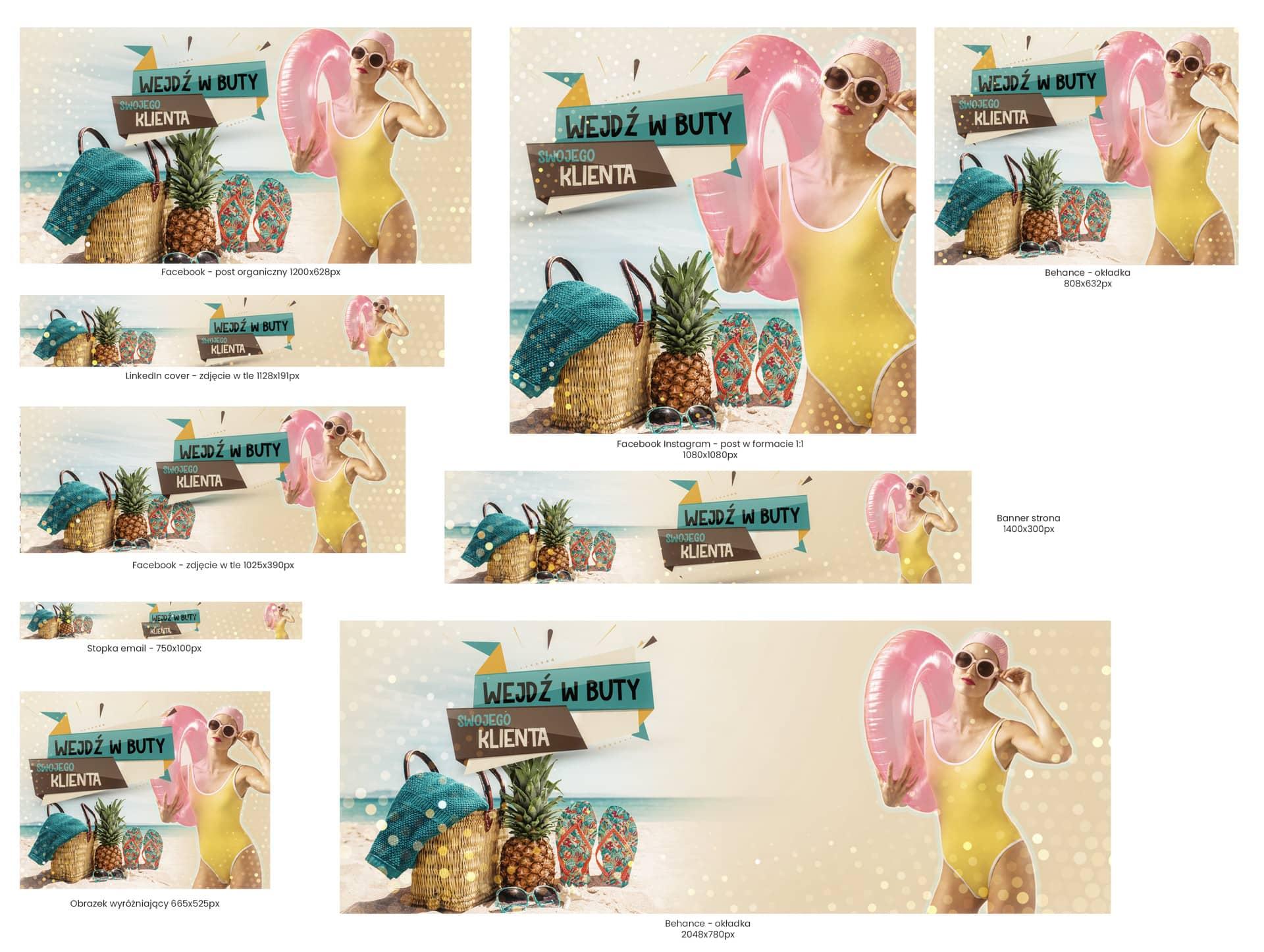 Reklamy graficzne - Wejdź w Buty Swojego Klienta