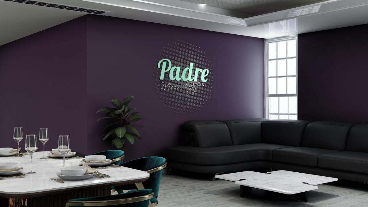 Padre Blog - Logo – znak firmowy- Projektowanie graficzne